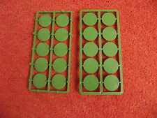 Renedra 25mm Round bases, ( 20 )  suitable for Bolt Action