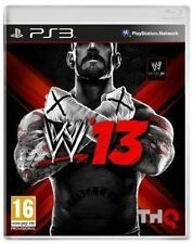 WWE '13 (2K Sports) (Sony PlayStation 3, 2013)