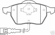 VW GOLF  MK4 1998> FRONT  BRAKE PADS MINTEX MDB2041