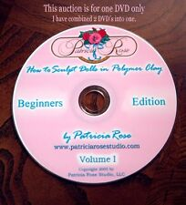 BEGINNERS DVD LEARN TO SCULPT (new price reduction) by Patricia Rose