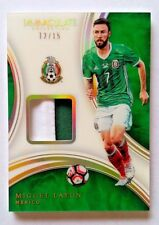 2017 Panini Immaculate Soccer Acetate Patch Miguel Layun #12/15