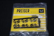 W703 Vintage PREISER Train Maquette Ho 2320 Velo Bicyclette plastique diorama