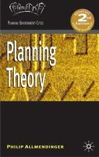 Planning Theory [Planning, Environment, Cities]
