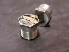 Norton Commando Fork Nuts **Stainless Steel**