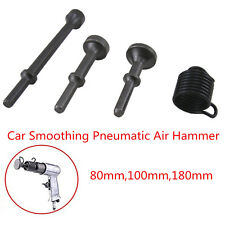 Smoothing Pneumatic Air Hammer Pneumatic Bit, Extended Length Hammer 3pcs+Spring