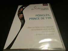 """Dvd new """"pericles, prince of tyre by shakespeare"""" mike Gwilym/fiction bbc"""