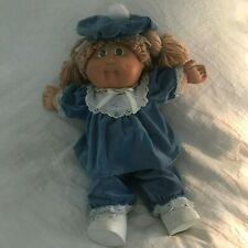 Cabbage Patch Kids Coleco Blonde Hair, Green Eyes