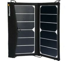 Portable Lightweight Solar Panel 14W (2x7) 12V Textile Frame & USB port