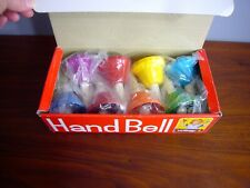 Vintage True Tone Fmt Accurate Tone Children Hand Bells Set of 8 in box