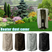 Garden Patio Heater Cover Waterproof Dust Cover with Zip Closure for Outdoor