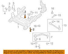 GM OEM Front Suspension-Engine Cradle Bolt 11561377