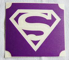 GT133 Body Art Temporary Glitter Tattoo Stencil Superman
