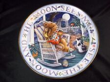 Royal Doulton fine china collector plate Moonlight Blessings Franklin Mint