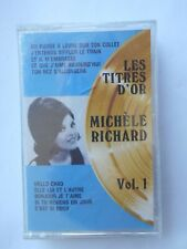 MICHELE RICHARD Les Titres d'Or SEALED!!! CANADA CASSETTE K7 FRENCH TAPE