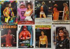 WWE / WWF MUCHO MAN Randy Savage & Elizabeth trading Card  LOT US + UK