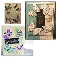 Hovering Butterfly Frame metal die Memory Box Cutting Dies 99372 butterflies