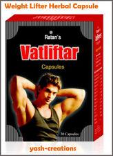 Ratan's Vatlifter Weight Gainer Capsule Pure Herbal Muscle Gain Supplement.