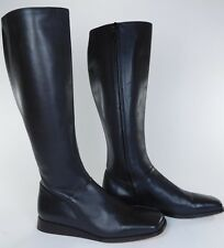 Hermes Paris Brown Soft Leather Riding Style Boots 37.5 US 7 Semelle Cuir 6199