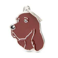 Irish / Red Setter Dog ID Tag  (28N) - Engraved FREE - Personalised - Charm