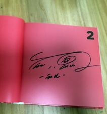 SHINEE Taemin autographed 2nd album MOVE CD+photobook +signed photo used