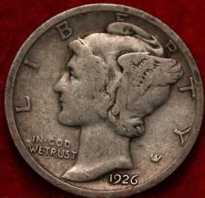 1926-D Denver Mint Silver Mercury Dime