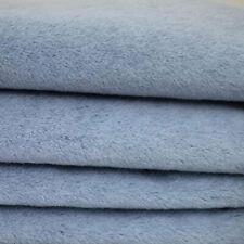 "1/4 yd ALP7S Light Denim Blue INTERCAL 3/8""+ Dense German Alpaca Blend Fabric"