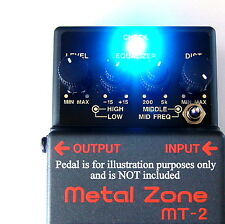 NEW Modify YOUR BOSS MT2 to TWILIGHT ZONE HiFi Mod KIT Guitar Effects Pedal MOD