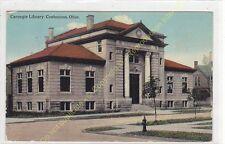 Old Postcard USA CARNEGIE LIBRARY COSHOCTON OHIO Edit ca1912