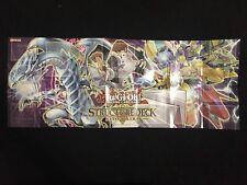 YUGIOH!! Structure Deck: Seto Kaiba Spielunterlage/Playmat! WIE NEU! EN!