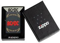 ZIPPO AC/DC High Voltage schwarz matt Feuerzeug Kollektion 2021 - 60005609