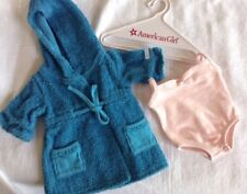 American girl doll bathrobe and Bodysuit great used condition!