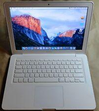 Nice Macbook A1342 2.4G core 2 Duo Laptop Notebook Computer OS X El Capitan