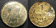IIIème République - 1 centime Daniel Dupuis 1912 plaqué or !!  - F.105/14