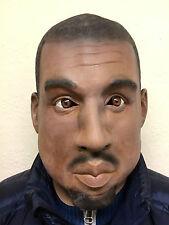 Deluxe Kanye Gold Digger Mask Overhead Latex Rapper Fancy Party West Masks