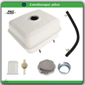 Fuel Tank Kits For Honda GX340 11HP GX390 13HP Chrome Gas Cap Fuel Filter 6.4L