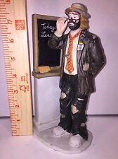 Flambro Emmitt Kelly Jr. Ceramic Teacher Clown Figure