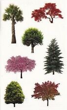 Mrs. Grossman's Giant Stickers - Trees in Nature - Photo Real Trees - 2 Strips