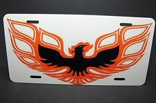 FIREBIRD LICENSE PLATE TAG TRANS AM PONTIAC METAL ALUMINUM