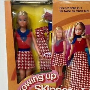 Vintage 1974 Barbie GROWING UP SKIPPER No 7259 Mattel New In Box NRFB
