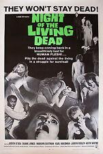 Enmarcado Retro Movie Poster – Noche De Los Muertos Vivientes 1968 (réplica impresión Horror)