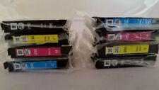 NEW Genuine Epson DuraBrite Ultra 200 Ink Cartridges-B/C/M/Y 8-pack