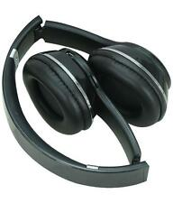 iGlow Bluetooth Mp3 Wireless Stereo Headphones S460 High Definition In Black