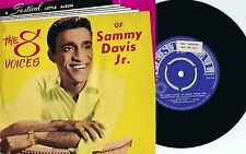 Sammy Davis Jr. ORIG OZ Promo EP 8 voices VG+ '55 Festival FX5025 Vocal Jazz