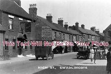 DR 138 - High Street, Swadlincote, Derby, Derbyshire, c1931 - 6x4 Photo