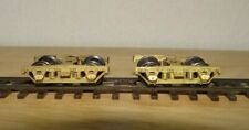 HOn3 Pair of Brass Wood Beam Passenger Car Trucks