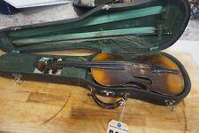 vintage violin repaired at Hamilton american fiddle repair