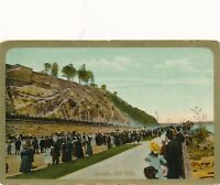NEW YORK CITY – Speedway showing Horses and Carriages with Onlookers