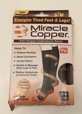 Miracle Copper Anti Fatigue Compression Socks black UNISEX size S / M