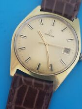 Vintage OMEGA Geneve Ref 136.041 Hand Winding Cal 613 Mens Date Watch