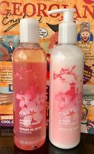 The Body Shop Japanese Cherry Blossom Shower Gel & Body Lotion 250ml Each